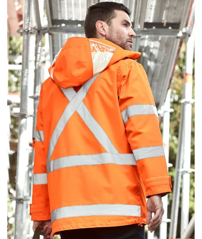 Syzmik-hi-vis-X-back_taped-waterproof-jacket-orange