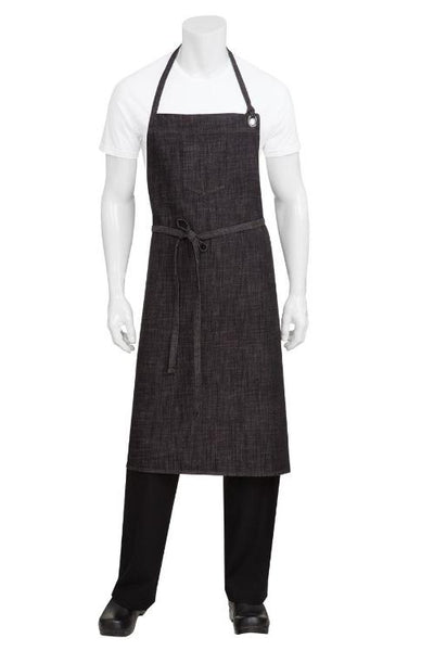 Corvallis-Cross-Hatch-full-Bib Apron-ABCXX002-Chef-works-aprons-nz-cafe-chefs-restaurant-kitchen