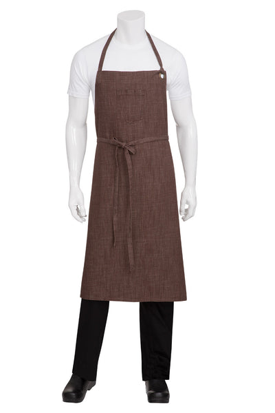 Corvallis Cross Hatch Bib Apron
