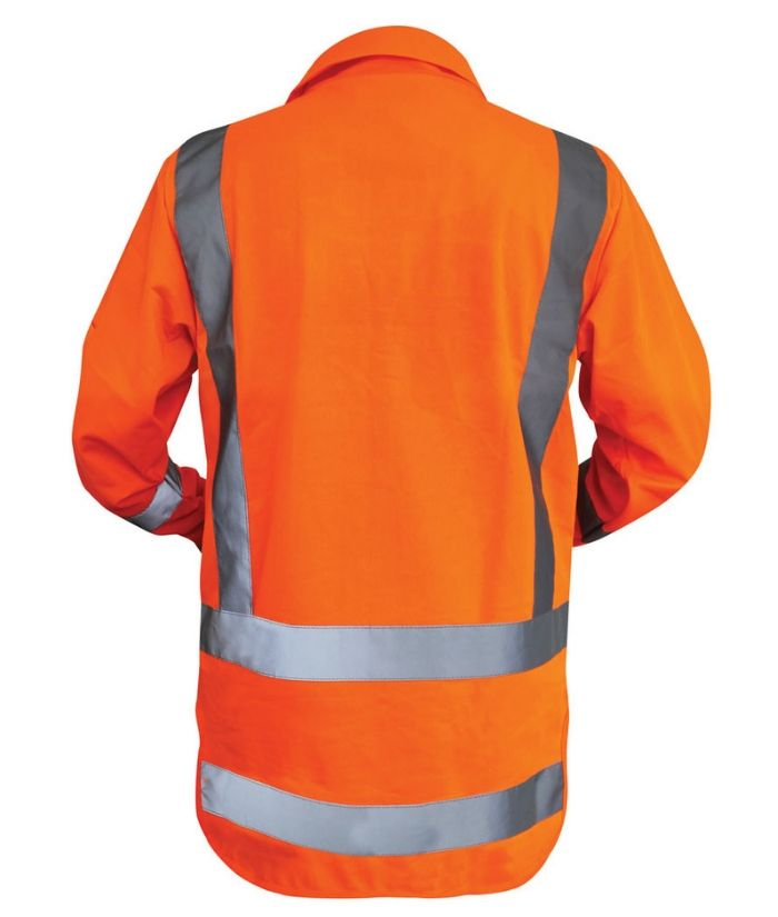 TTMC-W Long Sleeve Safety Vest - Zipped