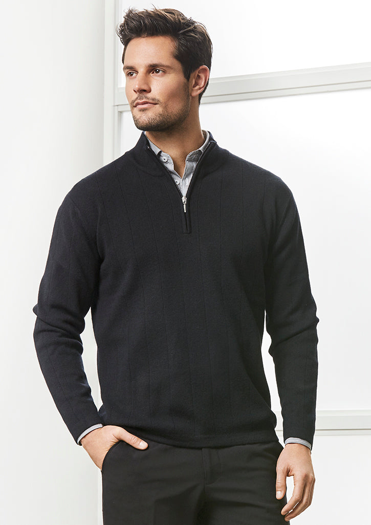 Mens-80/20-Wool-Rich-Pullover-WP10310-biz-collection