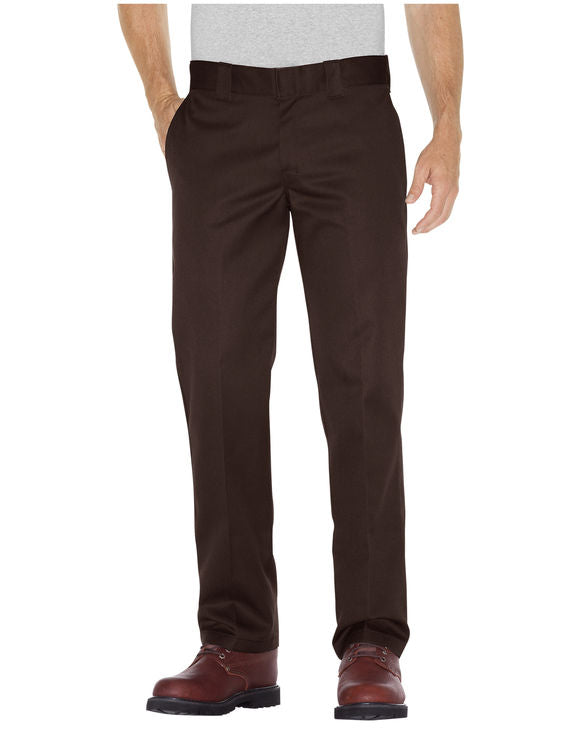Slim Fit Straight Leg Work Pants