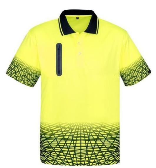 Hi Vis Mens Tracks Polo-zh300-syzmic