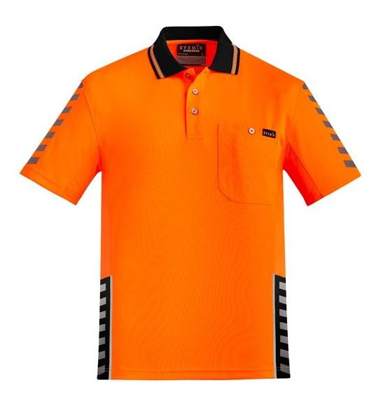 Mens Komodo Short Sleeve Polo-zh320-syzmic