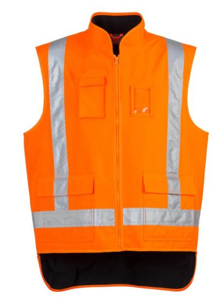 workwear-vests-zj356-Mens TTMC-W Fleece Lined Vest