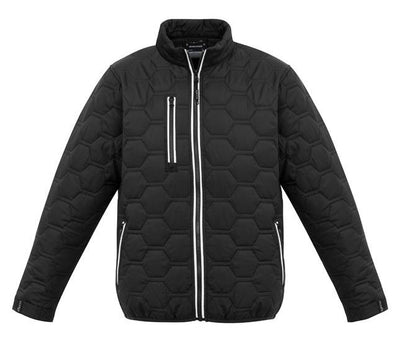 Hexagonal Puffer Jacket Unisex