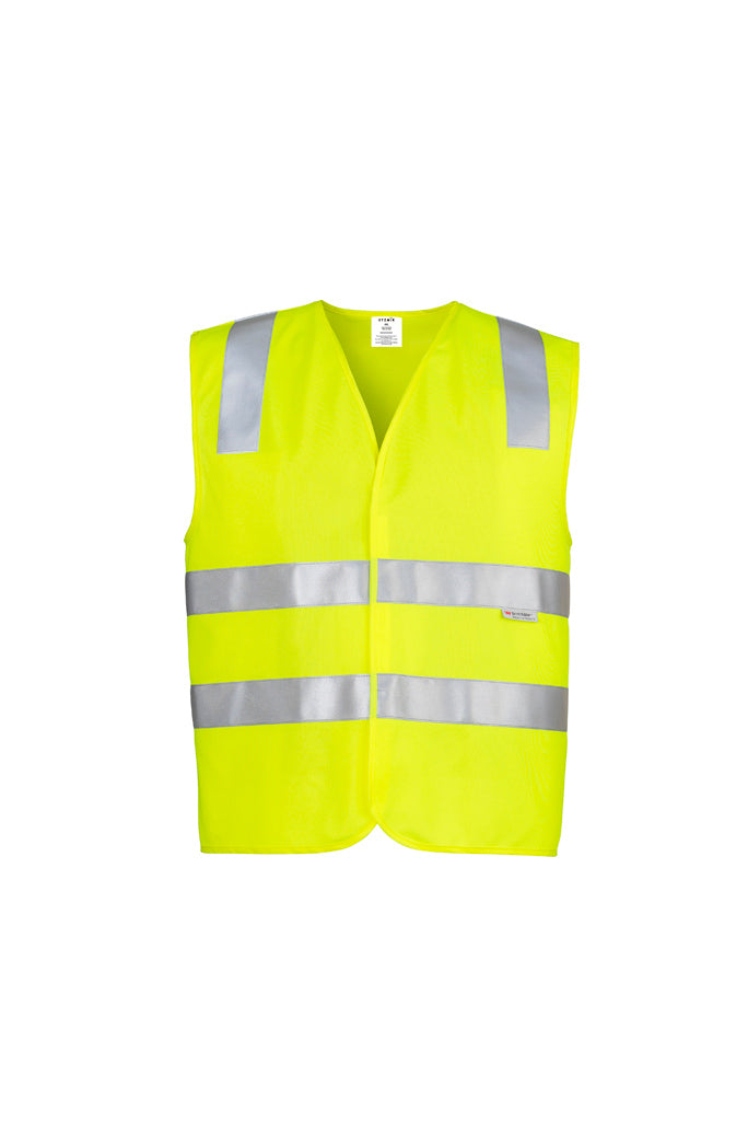 workwear-vests-zv998-Unisex Hi Vis Full Zip Vest