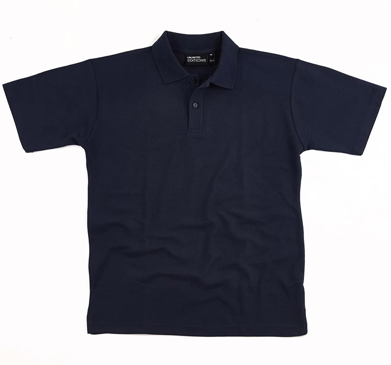 AP210 C-Force Adult Unisex Polo - Navy