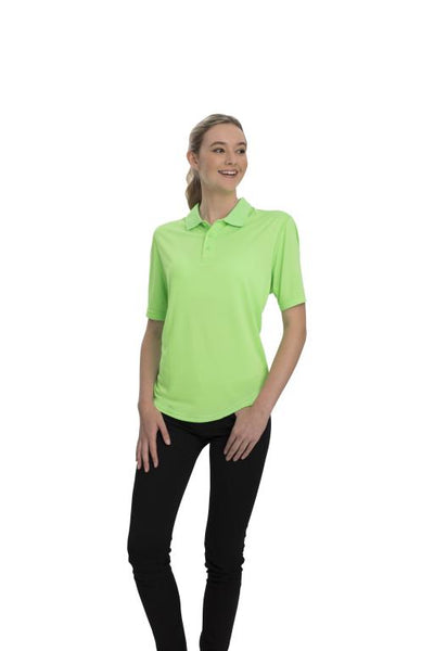 AP220 Adult Unisex Classic Lightweight Polo - Lime