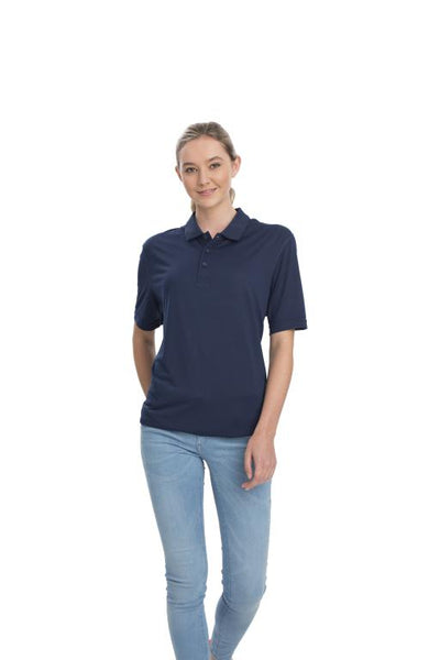 AP220 Adult Unisex Classic Lightweight Polo - Navy