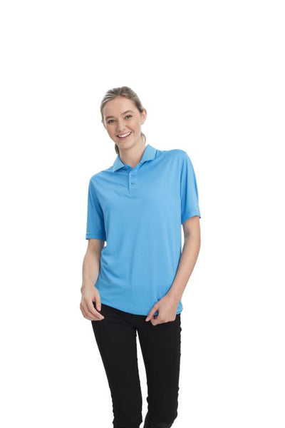 AP220 Adult Unisex Classic Lightweight Polo - Pacific Blue