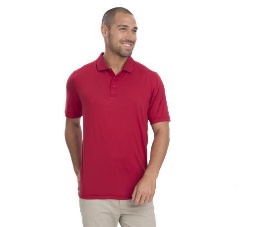 AP220 Adult Unisex Classic Lightweight Polo - Team Red