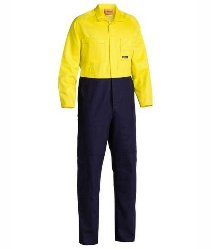 2 Tone Hi Vis, Day Only, Domed Overall