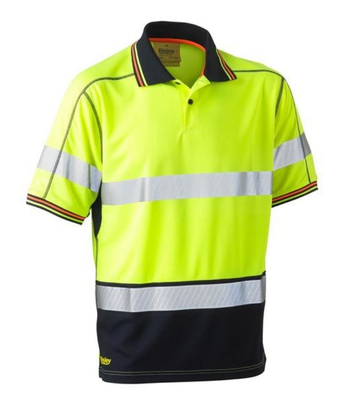 bisley-hi-vis-taped-reflective-day-night-polo-lightweight-builders-construction-plumbers-electricians