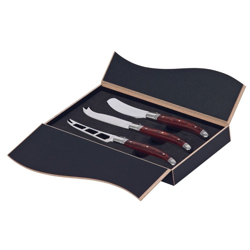Bordeaux Cheese Knife 3 Pcs Set - po 'di fame