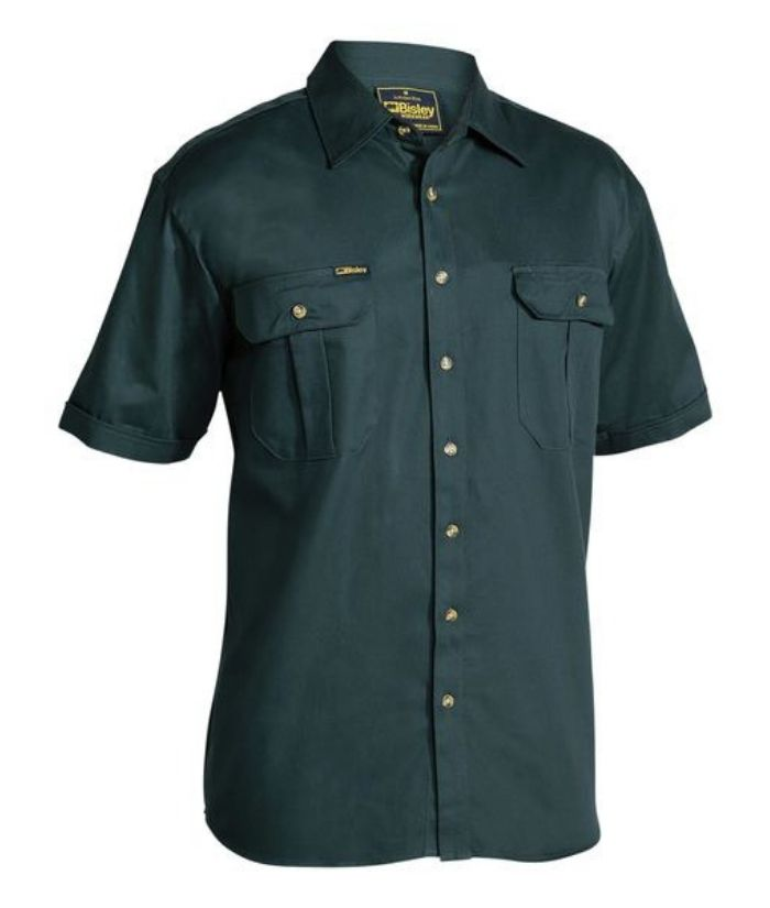 Original Cotton Drill Short Sleeve Shirt