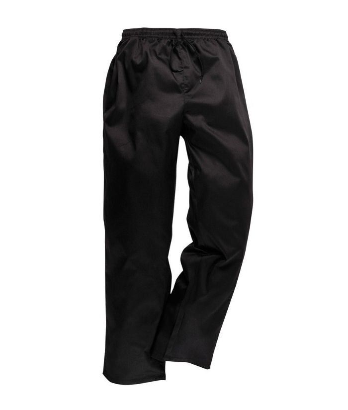 prime-mover-elasticated-chef-pants-c070-black