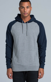Hoodies-5205 Steel Marle/Navy-case=as colour