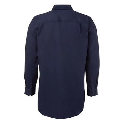 Closed Front Drill Long Sleeve Shirt