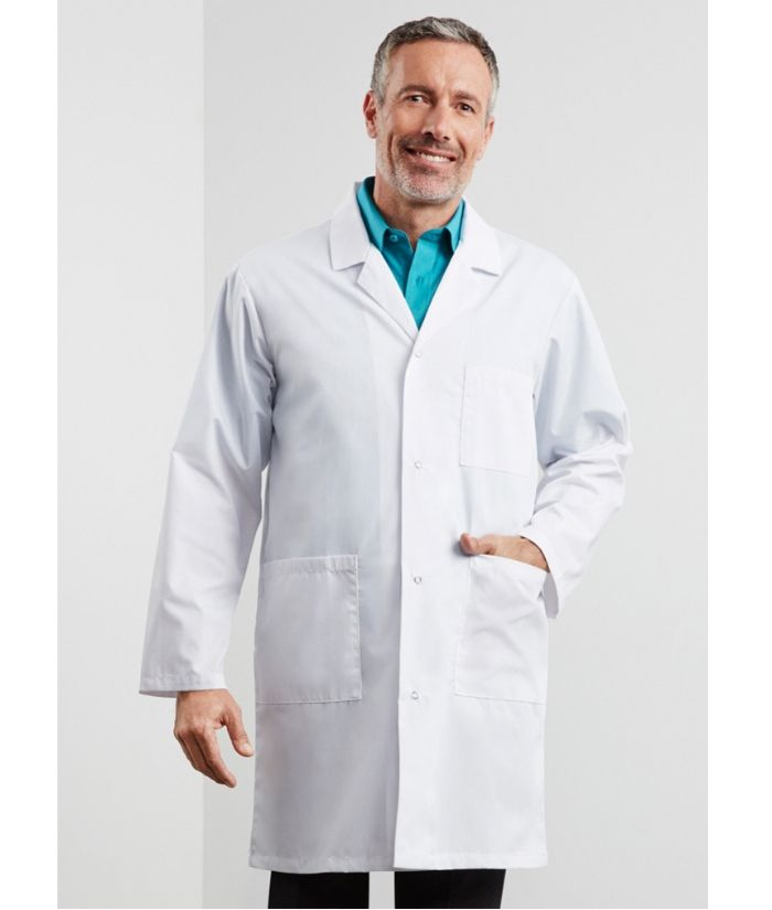 biz-collection-classic-unisex-lab-coat-H132ML-white