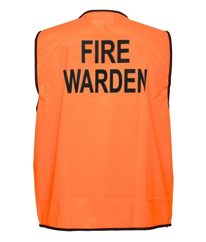 hi-vis-day-only-FIRE-WARDEN-safety-vest-orange-mv118