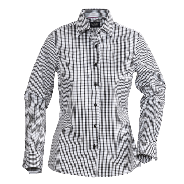 Tribeca Ladies Long Sleeve Shirt-JAMES-HARVEST