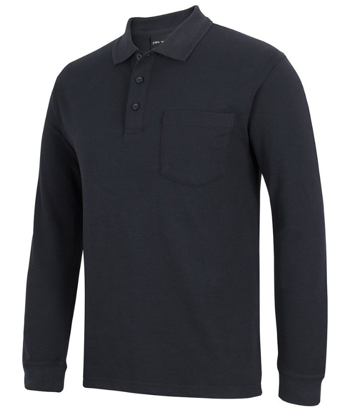 210 L/S Pocket Polo