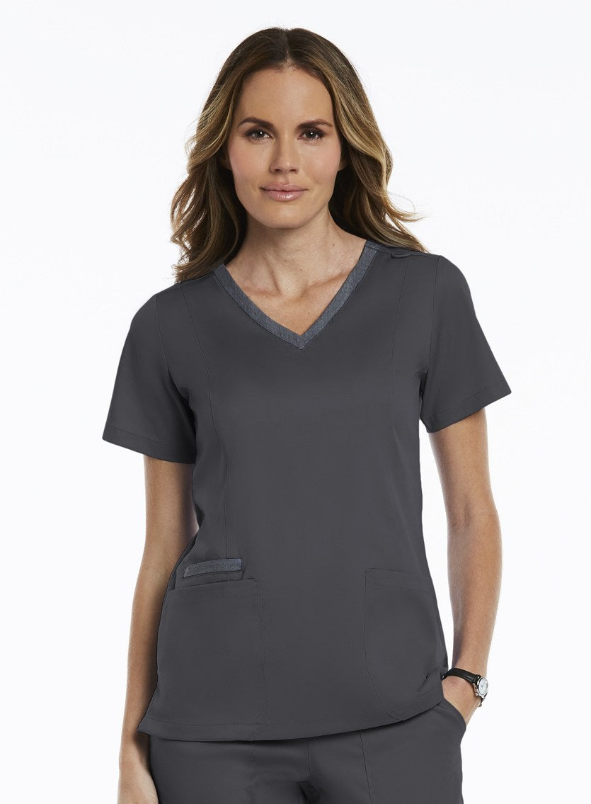 matrix-beauty-therapy-tunic-maevn-v-neck