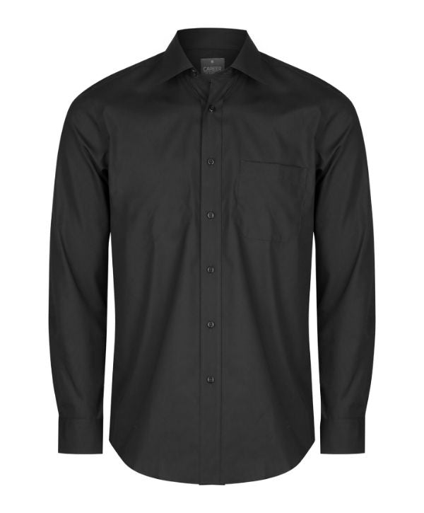 mens long sleeve shirts nz. Career By Gloweave Men's Nicholson Long Sleeve shirt. Code: 1272L. Colours: Sky, Start White, Silver, Charcoal, black, Navy, French Blue. Sizes:  37 - 54cm neck