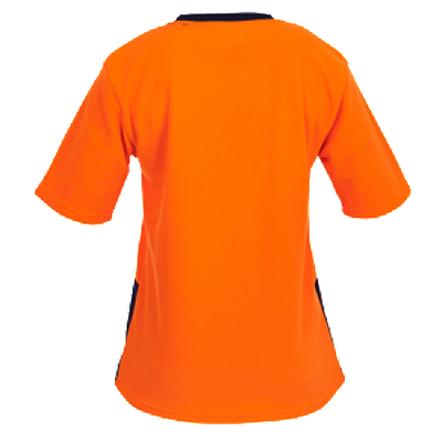 Hi Vis Day Only Short Sleeve Polar Fleece T-shirt