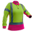 Hi Vis D/N Womens Microvent L/S Polo-pcp1265-caution-workwear
