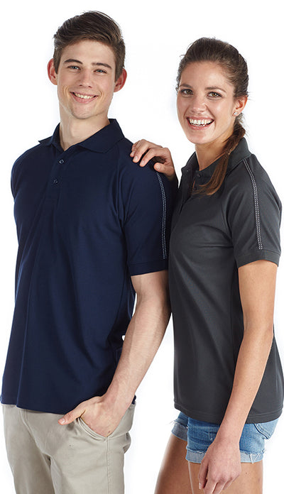 QP115 - Womens Vintage Polo c-force
