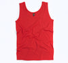 S190 - Unisex Adult Classic Singlet - Red