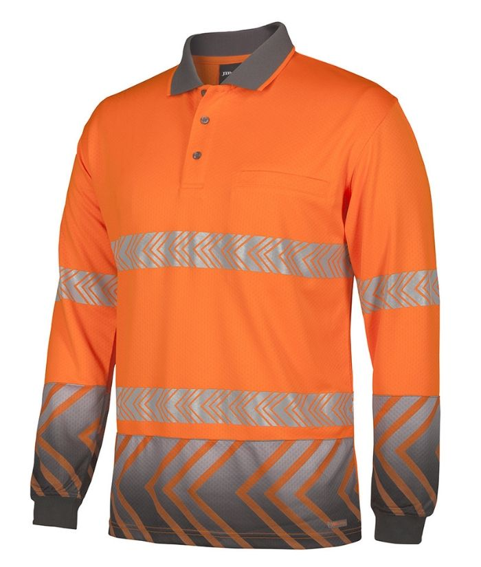 Hi Vis Arrow Sub Polo with Segmented Tape