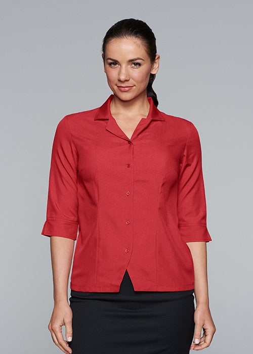 2904t-Lady Springfiled 3/4 Sleeve Shirt