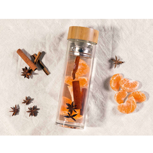 Tea & Fruit Infuser Bottle 420ml