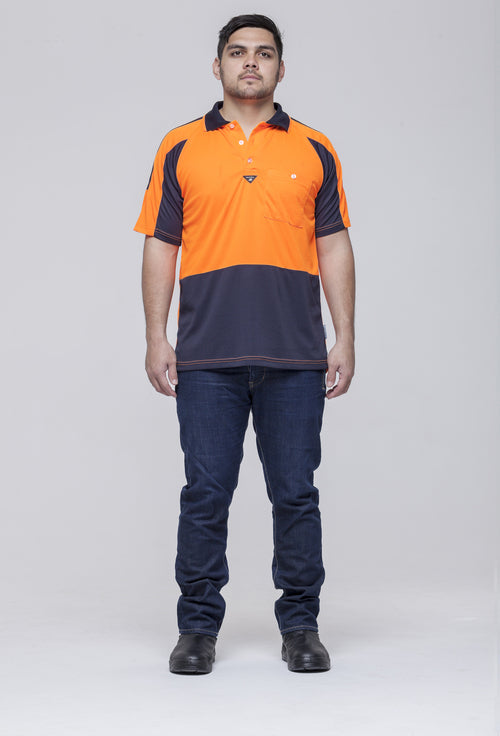 Hi Vis PRP Polo Shirt