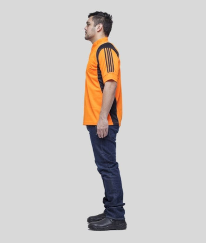 Hi Vis Standard Fit Rugger Polo Shirt