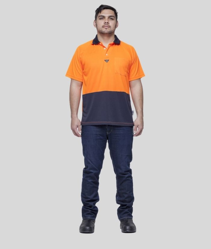 visible-difference-raglan-sleeve-hi-vis-polo-orange-navyVDRP