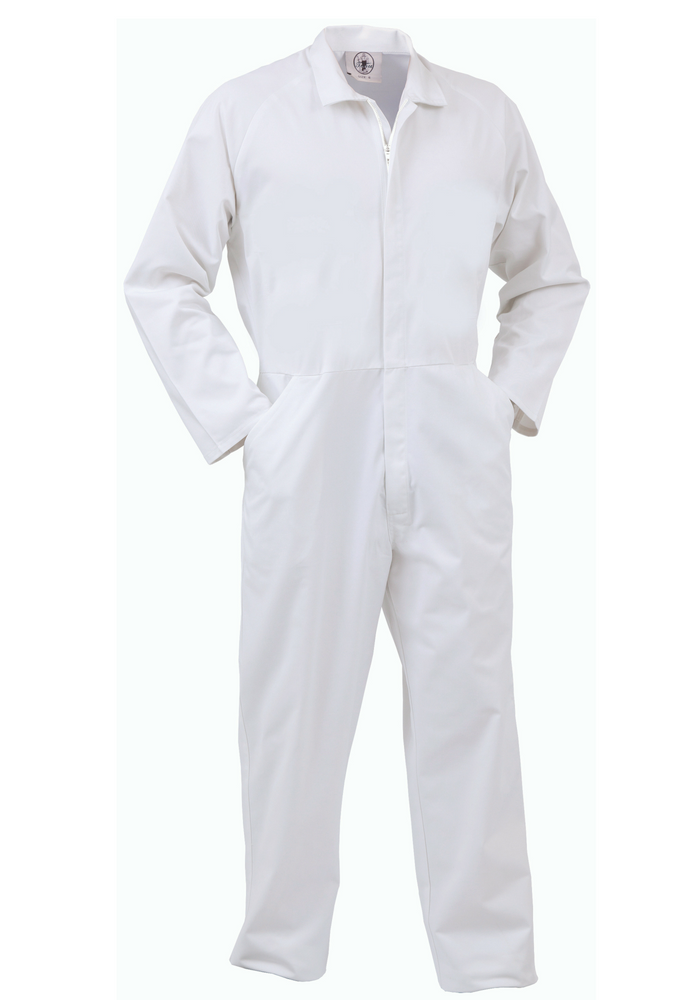 Food Industry Lightweight, Nylon Zip Overall-fonpclw