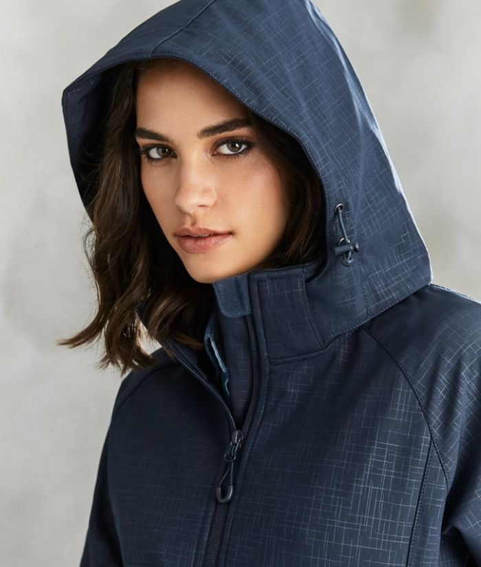 womens-ladies-biz-collection-geo-softshell-jacket-J135l-navy