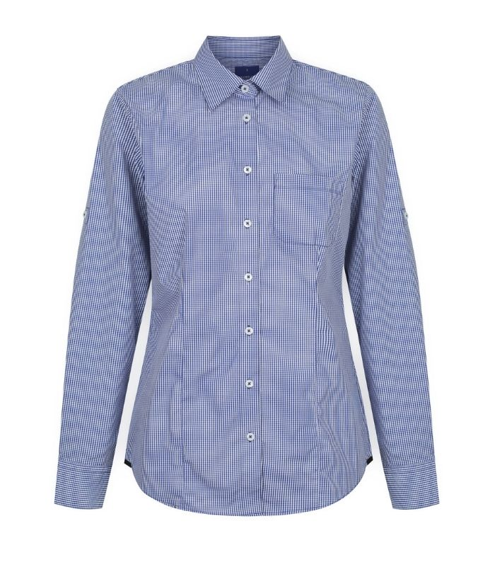 Westgarth Gingham Womens L/S Shirt-1737whl-gloweave