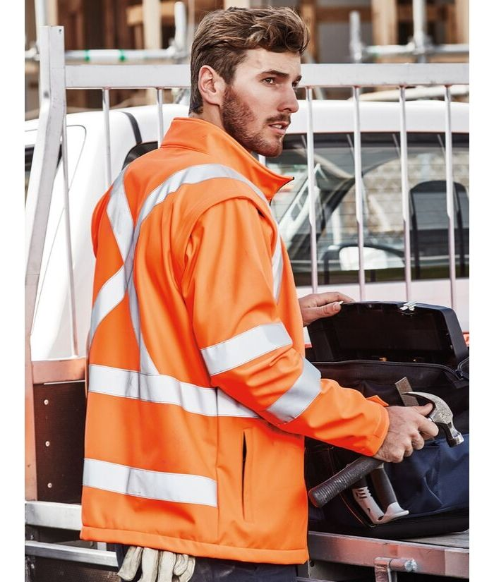hi-vis-x-cross-back-soft-shell-jacket-vest-combo-2-in-1
