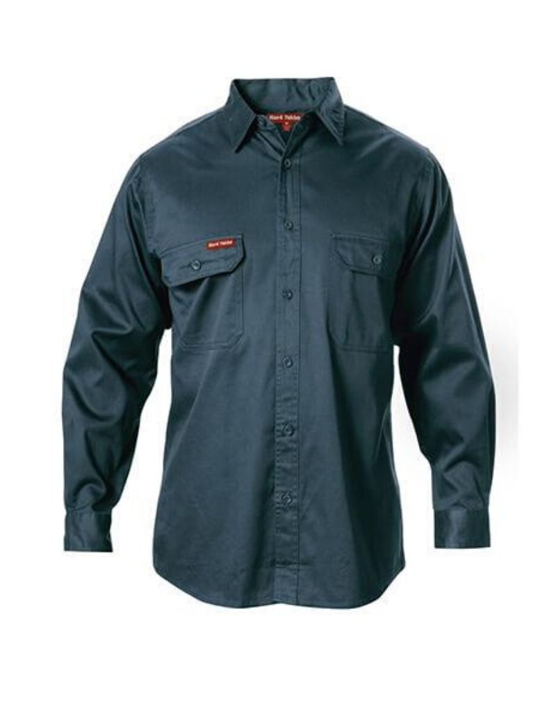 Foundations Cotton Drill Shirt L/S