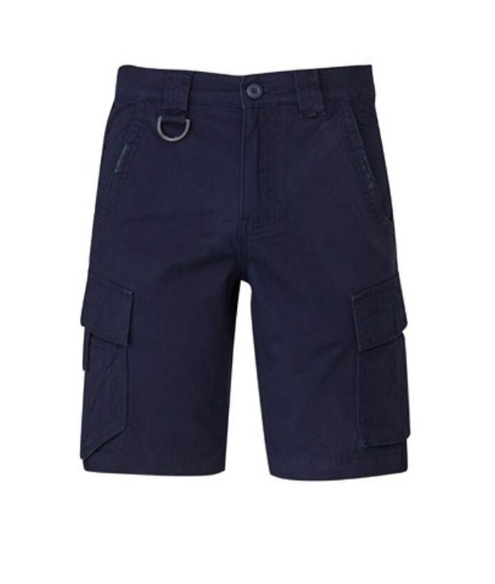 Streetworx Mens Curved Cargo Short