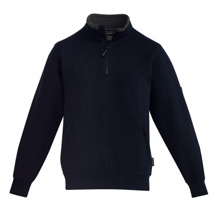 syzmik-fleece-pullover-zt366-black-uniform
