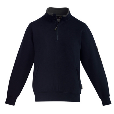 mens-1/4-zip-brushed-fleece-zt366-syzmik