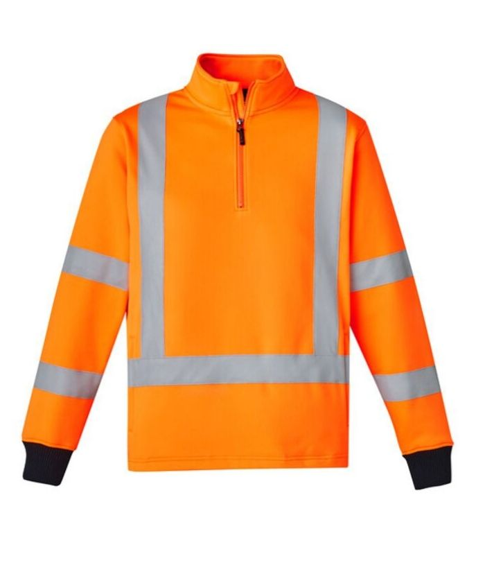 Unisex Hi Vis X Back Rail Jumper
