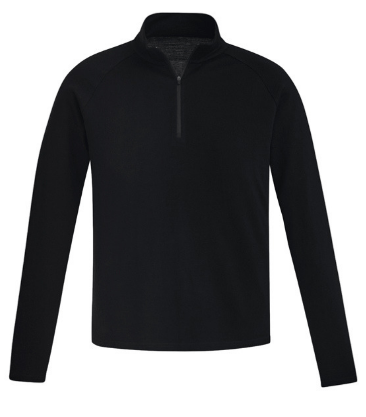 Mens Merino Wool Mid-layer Pullover