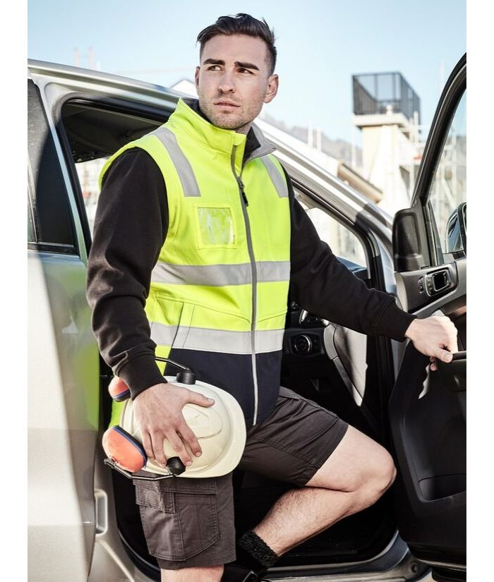 softshell-hi-vis-day-night-taped-reflective-vest-builders-electricians-plumbers-uniform-workwear
